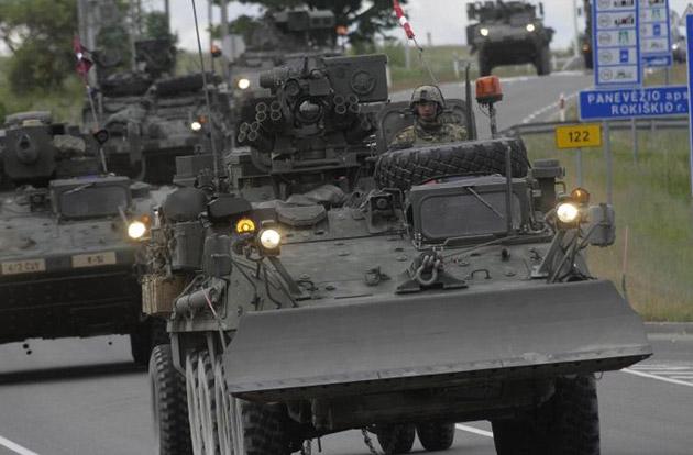 Italia invia 140 militari alla missione NATO per proteggere il confine Russo