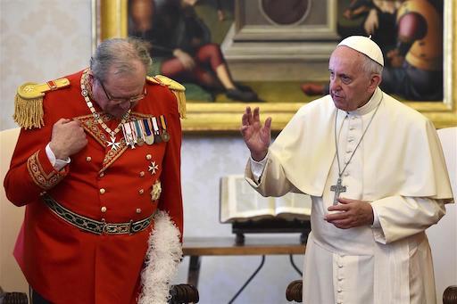 """A dieci Secoli di distanza il Papa e i Cavalieri tornano in """"battaglia"""""""