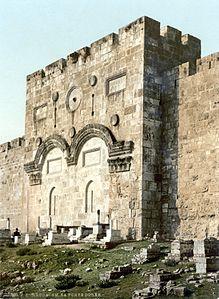 La Porta d'Oro della Città Santa di Gerusalemme