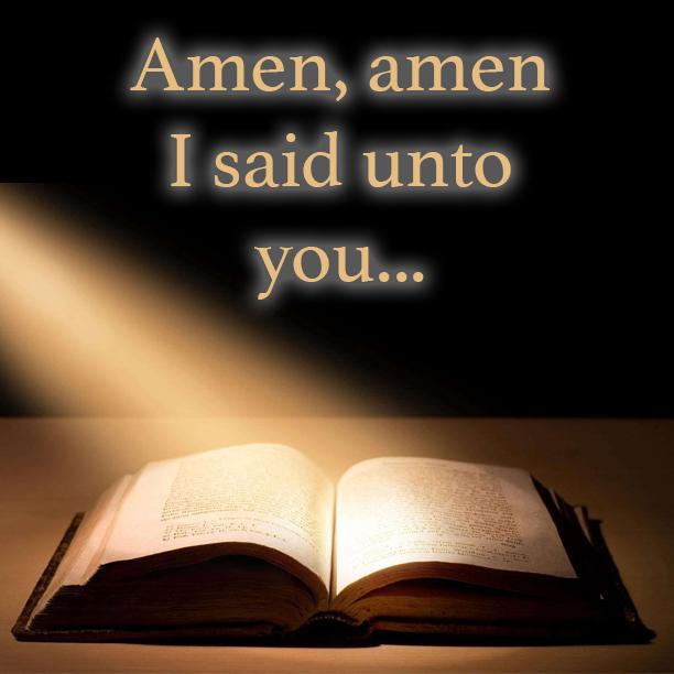 Amen: Dietro il significato della parola